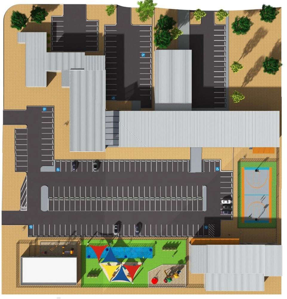 Campus of Hope Floor Plan
